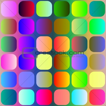 bright squares pattern