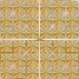 festive golden knot pattern