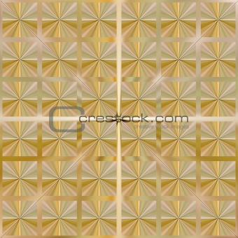 festive golden knot pattern