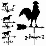 Weathervanes in vector