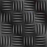 Dark metal background with cross hatch pattern