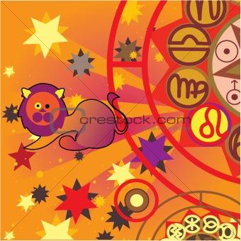 leo - fire zodiac sign