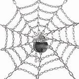 Web on the lock