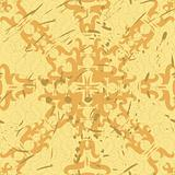 Ornament wallpaper, seamless, old style