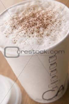 Close Up Of Hot Chocolate