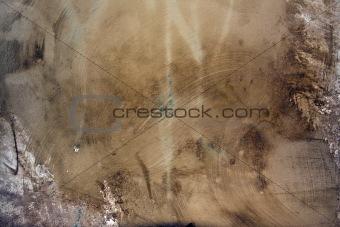 artistic grunge cement wall