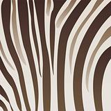 Brownish zebra pattern