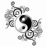 Yin Yang with ornament