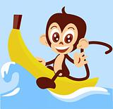 monkey-boat