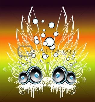 Music Fantasy background