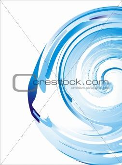 Liquid effect Business card