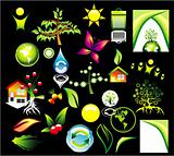 Environment ans recycle Icon se