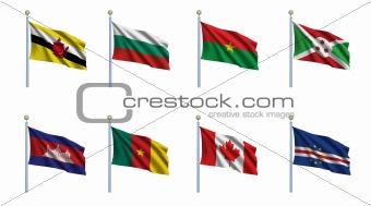 World Flag Set 4