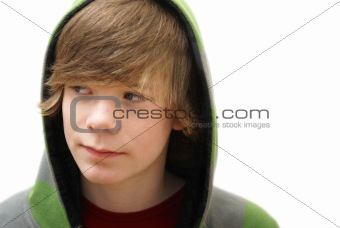Boy in a Hoodie