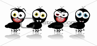 Ant Cartoon - vector image
