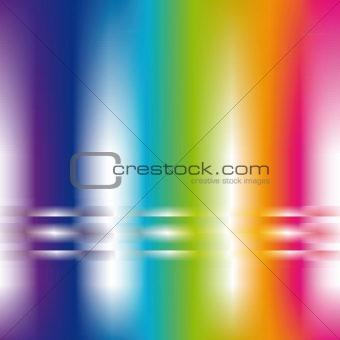abstract background in rainbow colors