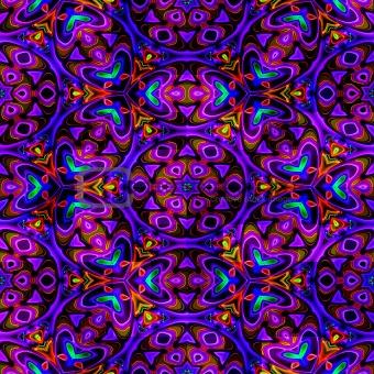 eastern ornamental pattern