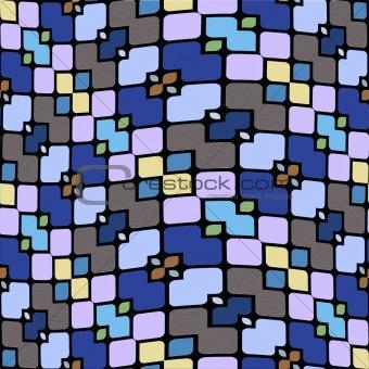 festive tile pattern