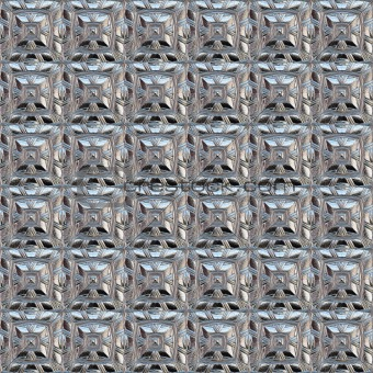 silver squares pattern