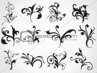 abstract stylish pattern tattoos