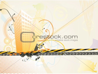 artistic background with
