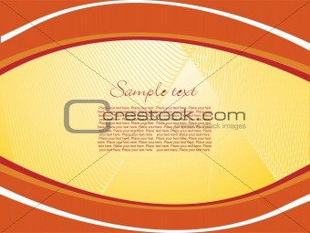 abstract brown background with place for text