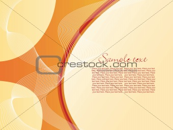 abstract wave concept background illustration