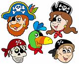 Pirate characters collection