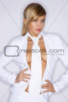 White Sexy Tie