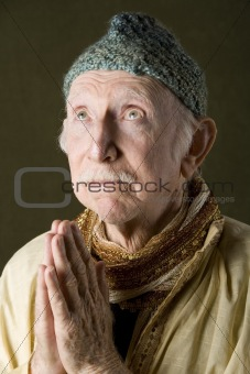 Praying Holy Man