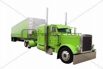 Green Super Truck