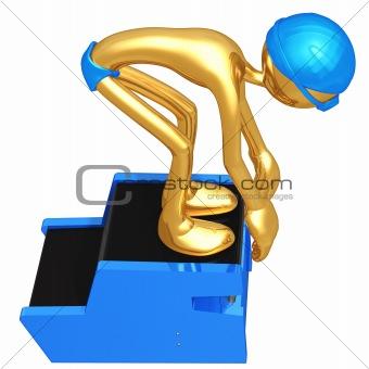 3D Swimmer