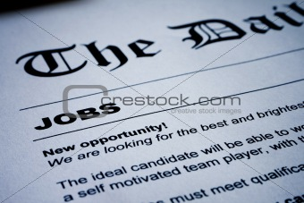 Jobs on Newspaper