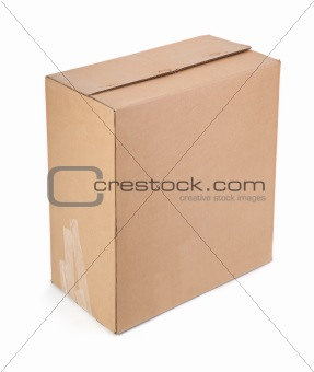 single cardboard box