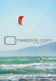 Kite Surfing in San Francisco