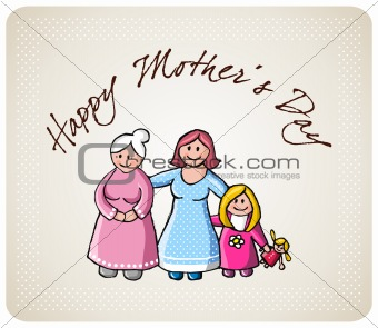 Greetings for mom in her day