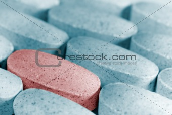 one pill stand out
