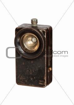 Old Pocket Flashlight
