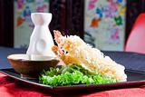 japanese sushi tempura
