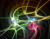 colored synapses