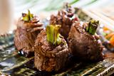 chinese cooking beef roll