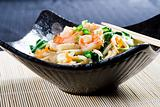 chinese style seafood noodle