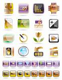 Digital Camera  Performance Icons