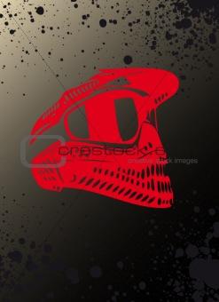 grunge helmet