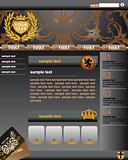 premium website template