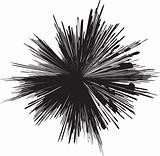 explosion silhouette
