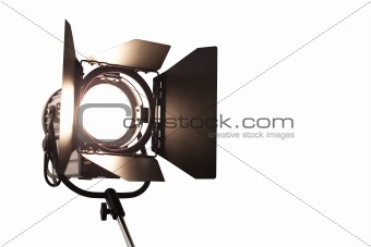 studio lamp with CP