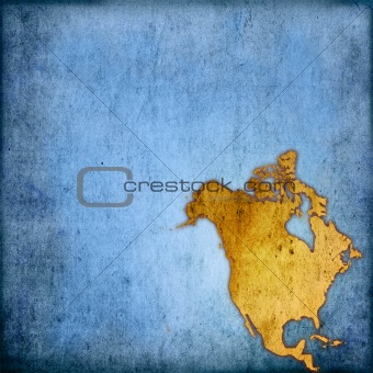 aged America map-grunge artwork