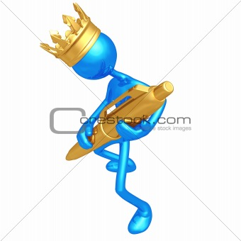 King Holding Pen