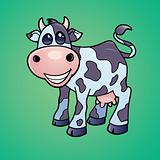 Happy Dairy Cow